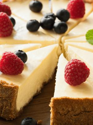 Cheesecake revisité Lait du Forez